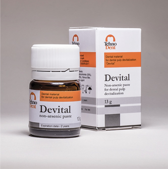 Devital – For dental pulp devitalization