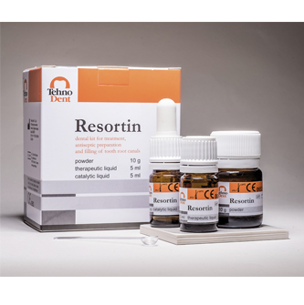 Resortin – For treatment of narrow difficult infected root canals