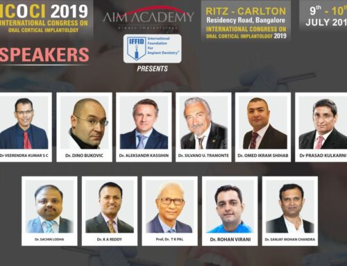 International Congress on Oral Cortical Implantology- India/Bangalore Jul 2019