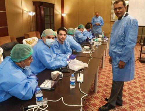 workshop on immediate dental implantation in Erbil-IRAQ May 2019